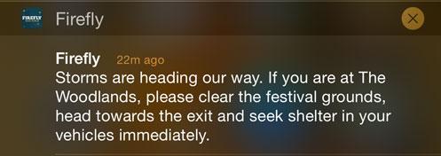 Firefly Alert