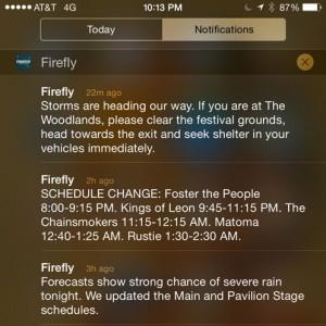 Firefly 2015 Alert