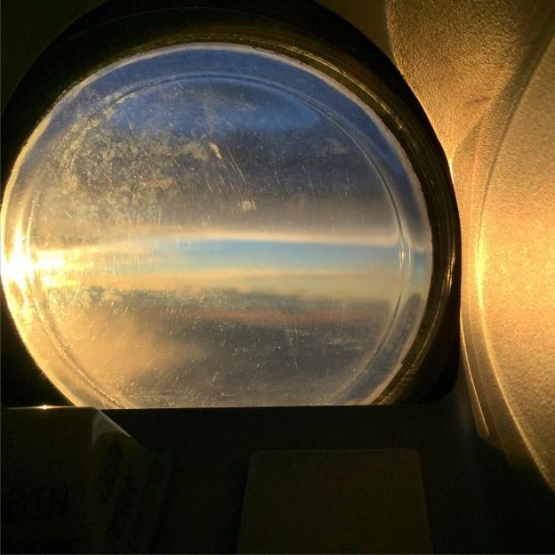 Plane porthole
